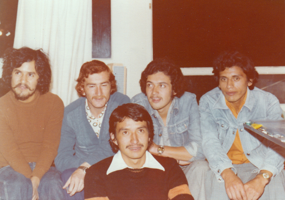 From left to right: Jaime Bautista, Oswaldo Arteaga, Francisco Bohorquez, Fernando Arregui & Edgar Barahona