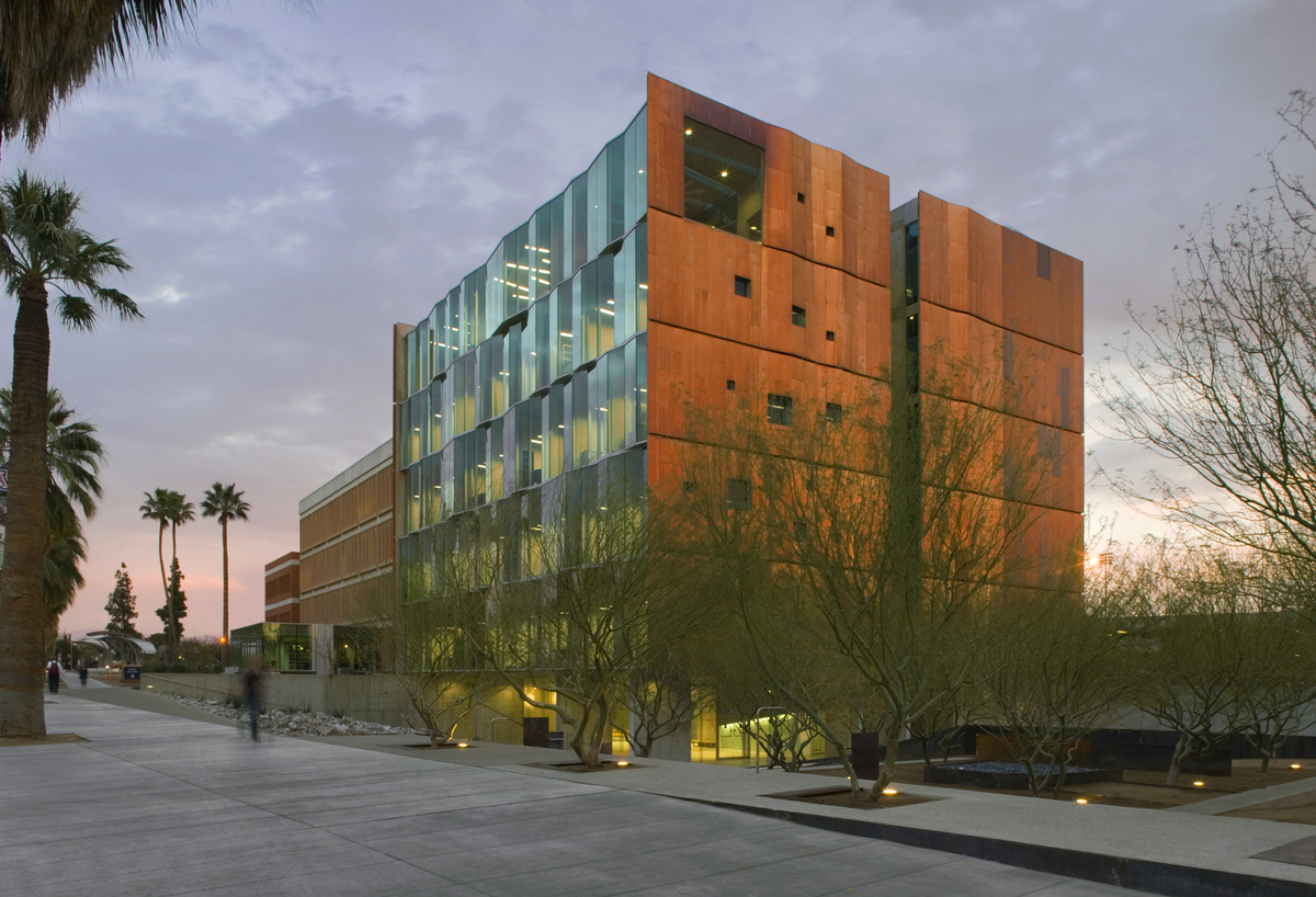 University Of Phoenix Employment >> meinel optical sciences building | richärd+bauer architecture, llc | Archinect