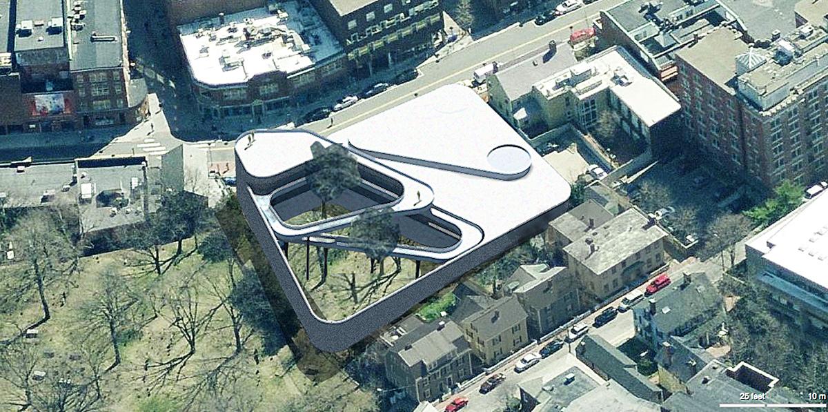 Aerial View - Church Street