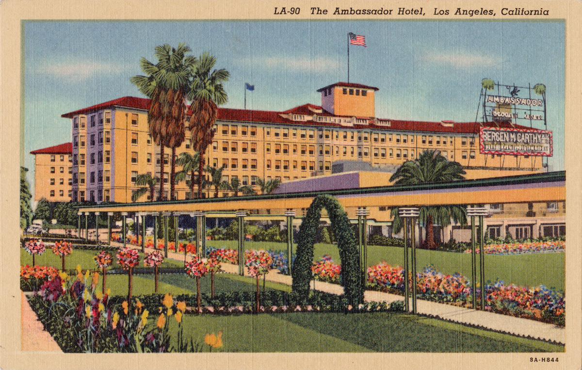 The Ambassador Hotel. Image via after68.com