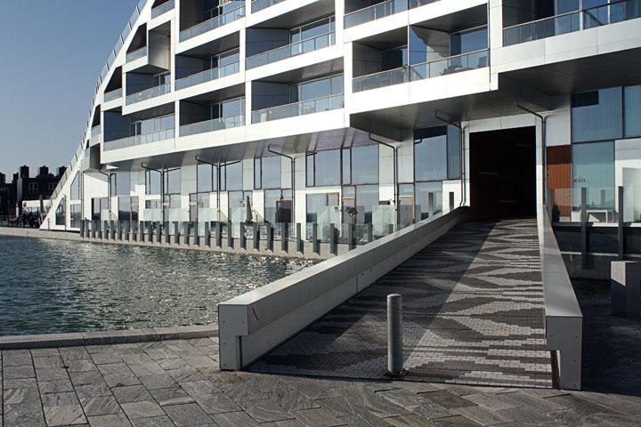 Entrance of Bjarke Ingalls (BIG) 8 House