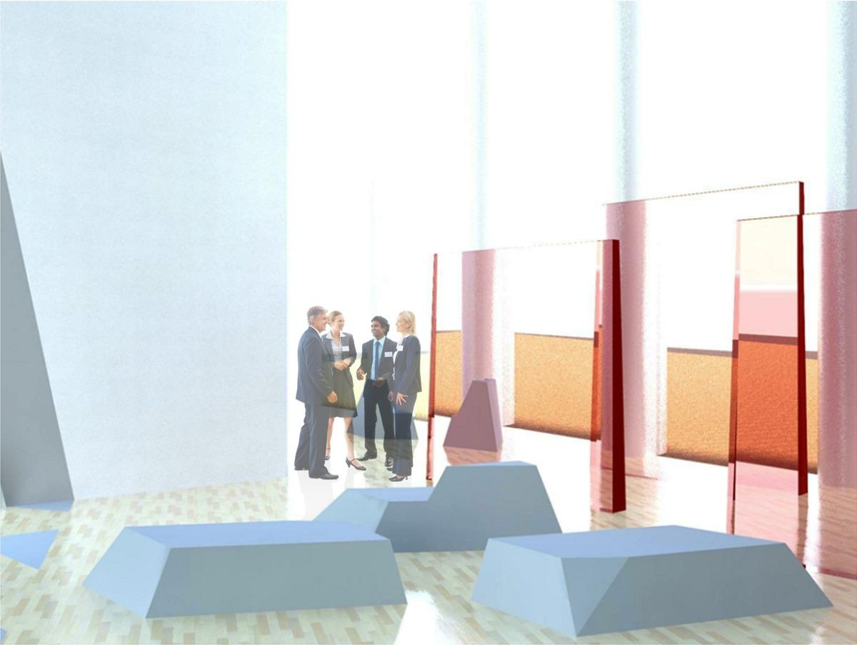 Exhibition Floor Rendering