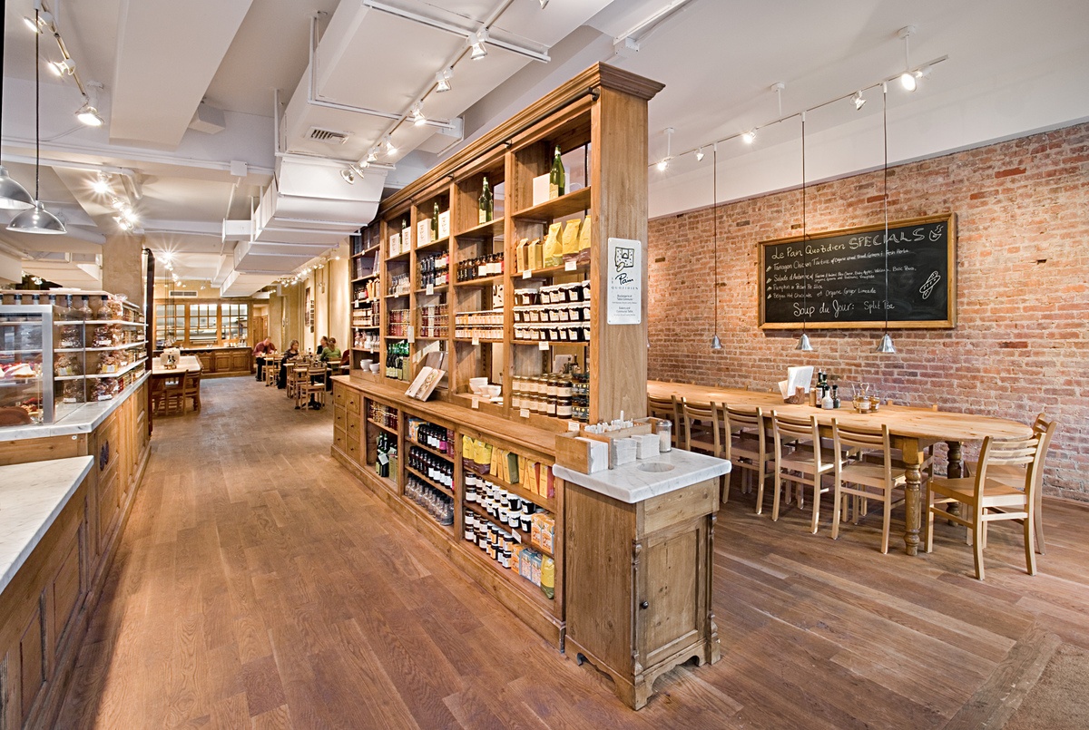 Le Pain Quotidien Tobin Parnes Design Archinect