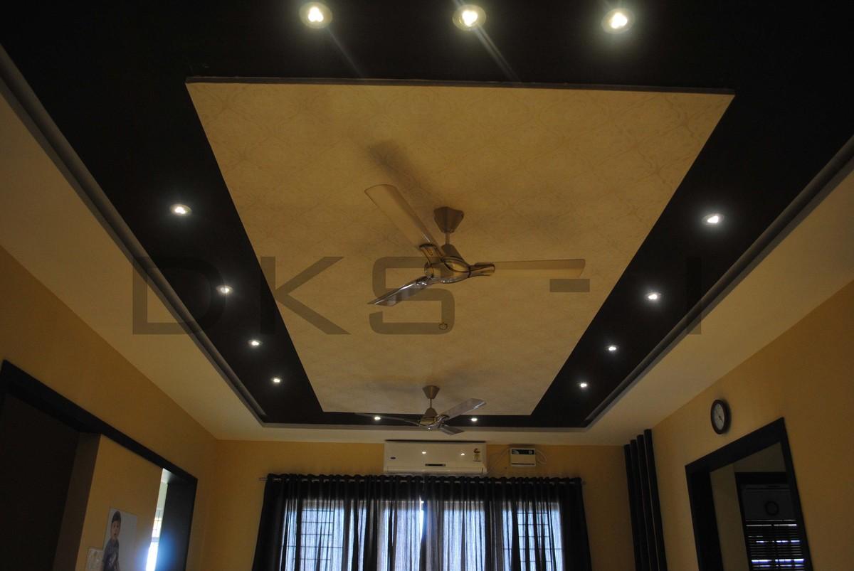 Residential interior design for mr keerthivarman for Dining room false ceiling designs