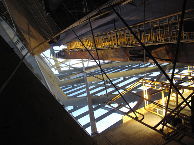 WTC VOEC Atrium Primary Structure and Tridents