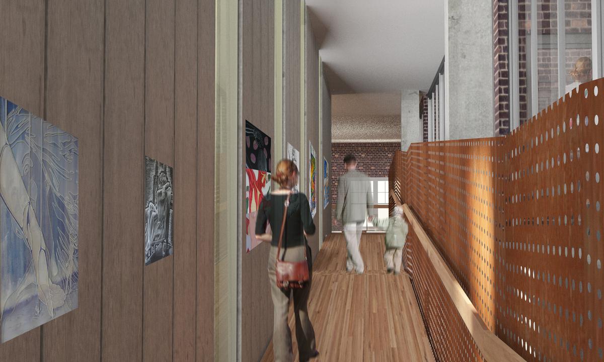Gallery/ramp