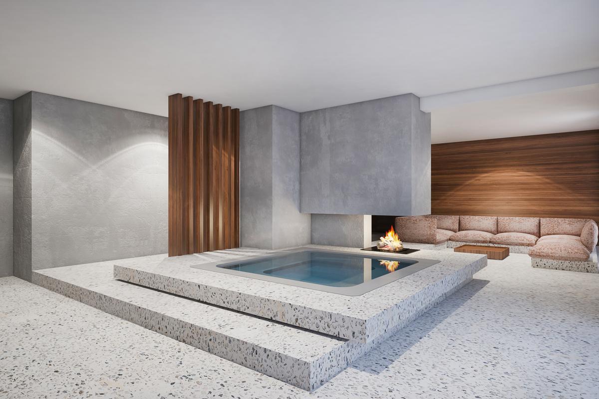 Haus k destilat design studio gmbh archinect for Haus innenarchitektur