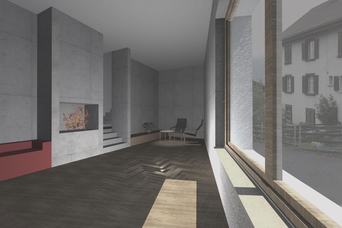 living room 1st floor
