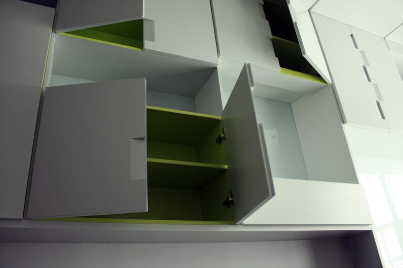 Cabinet interior