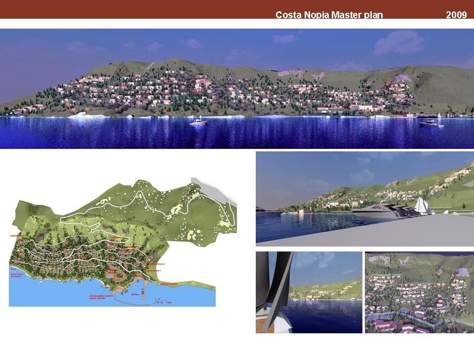 Urban development and resort in Crete, Greece