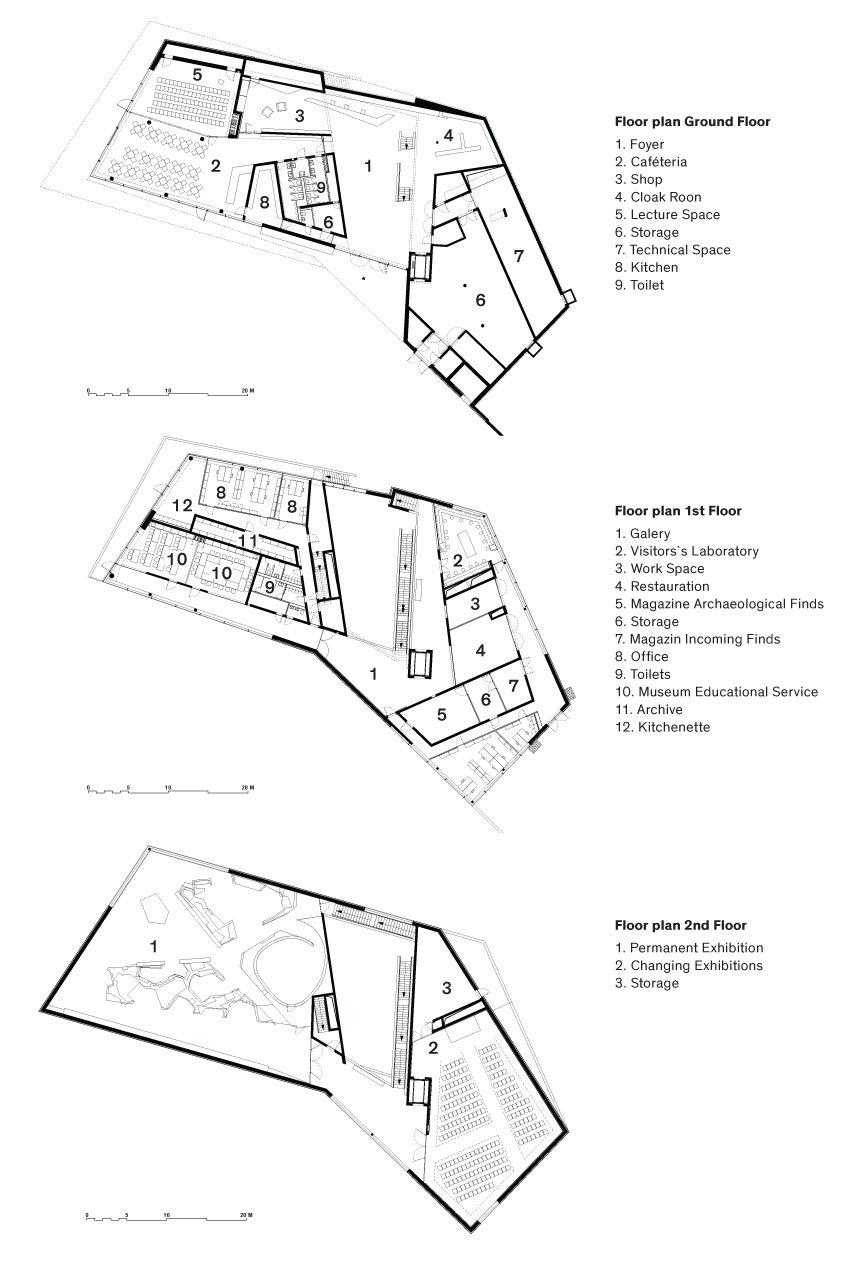 Floor plans © Holzer Kobler Architekturen