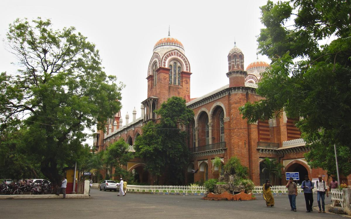 Senate House of Madras University