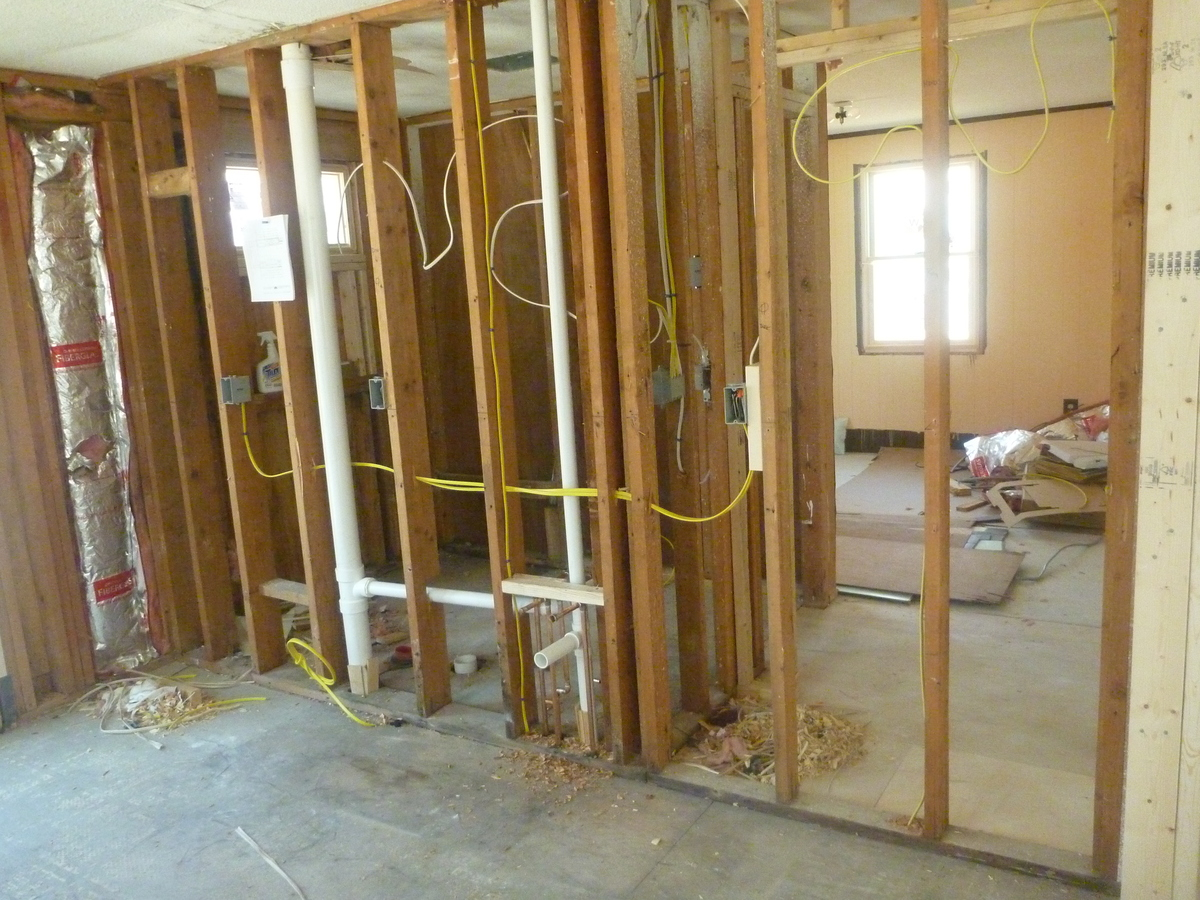 Kitchen and Master Suite - Under Construction