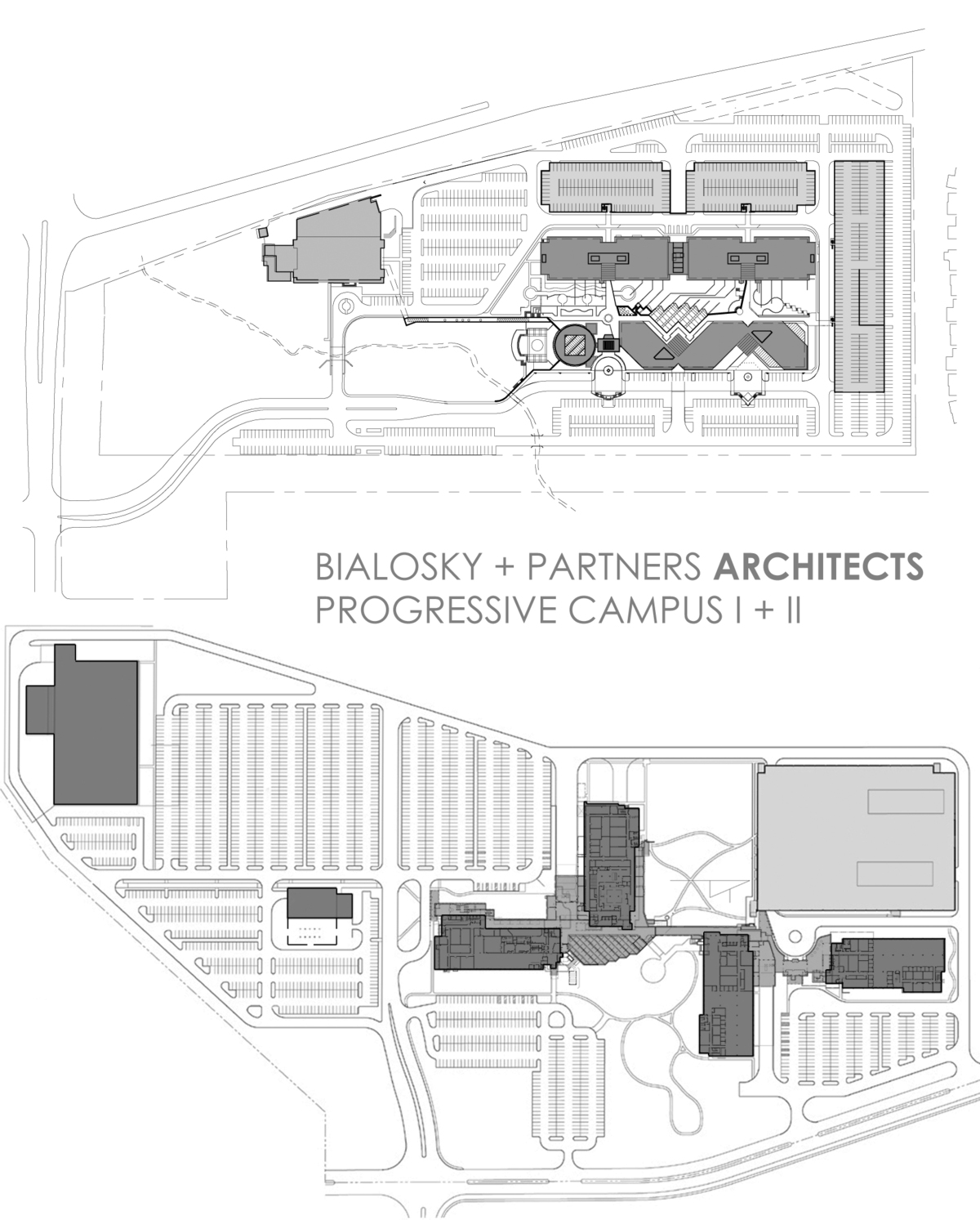 Progressive Campus Site Plans - Bialosky + Partners Architects