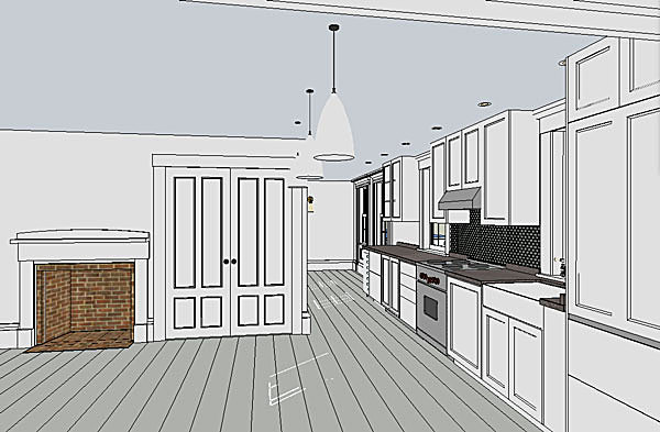 Kitchen (SketchUp)