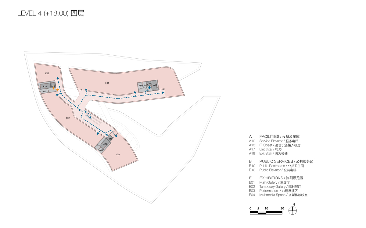 Plan at Level 4 (© Studio Link-Arc)