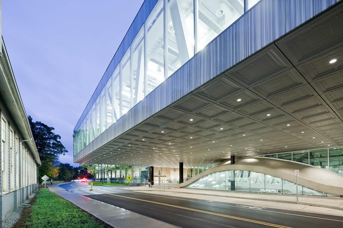 Milstein Hall, Cornell University; Ithaca, NY (Photo: OMA)