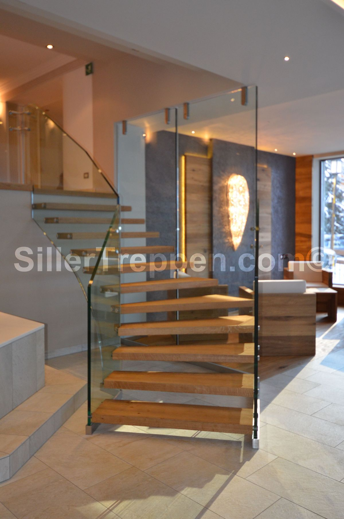 Glass Stairs And All Glass Staircases Benjamin Friedl