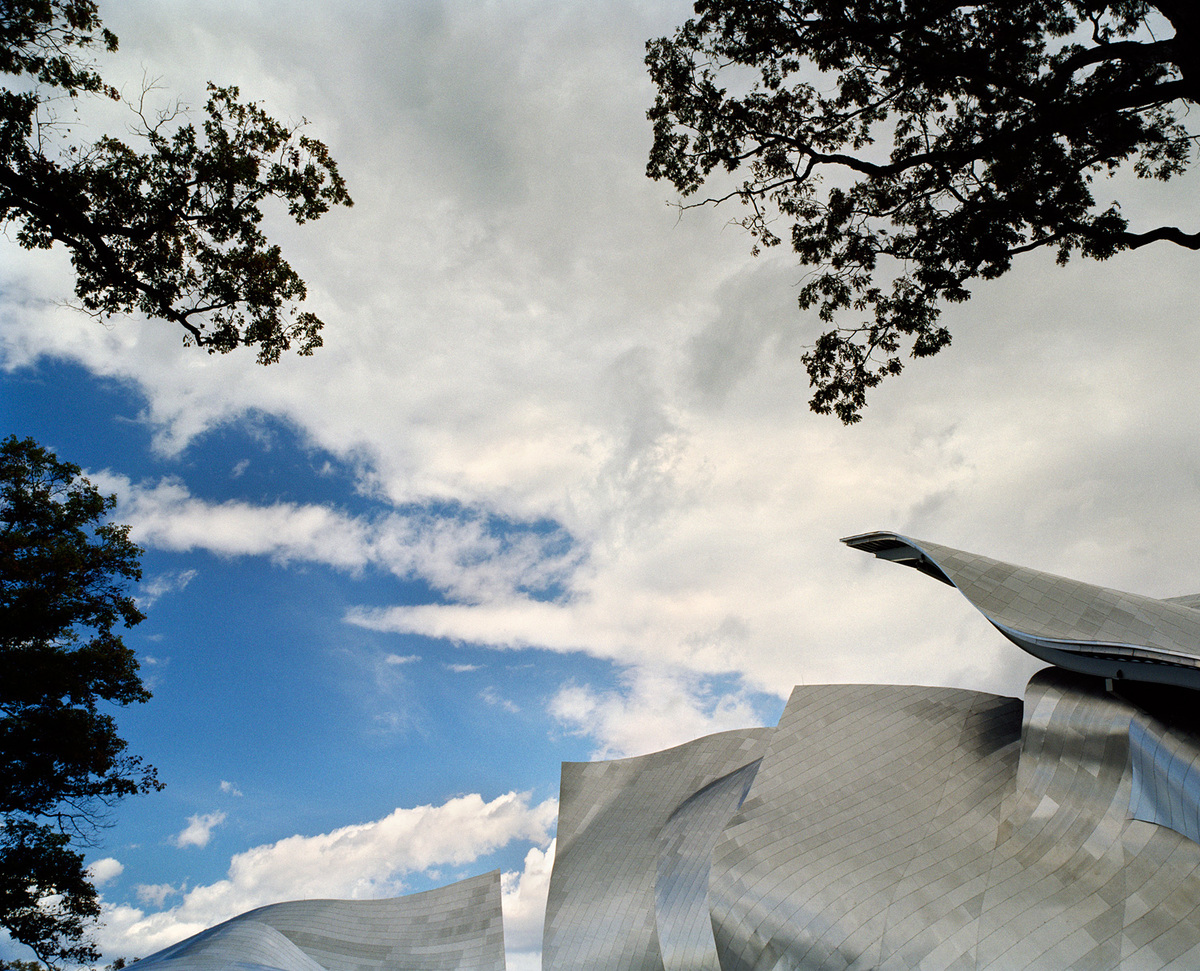 Bilyana Dimitrova: Fisher Center at Bard College by Gehry Partners. Shot in Annandale-­on-­Hudson, New York, 2003. © Bilyana Dimitrova