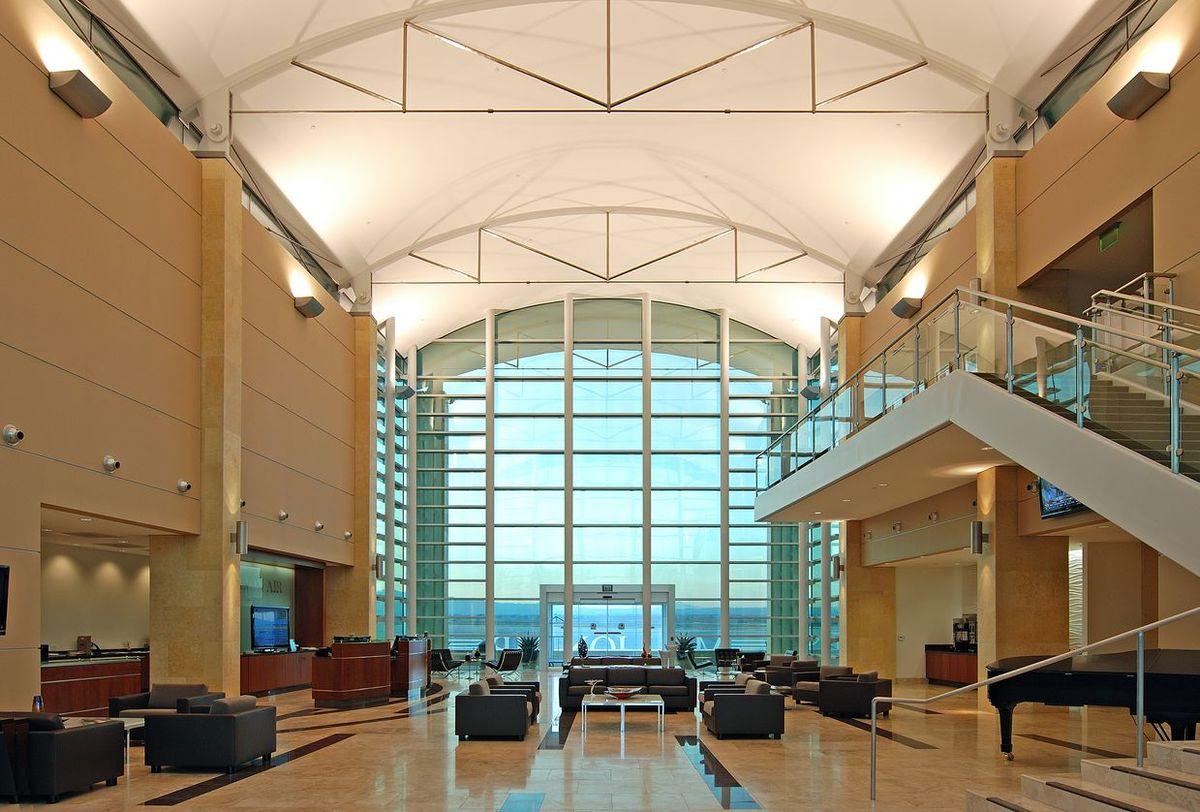 FBO Main lobby