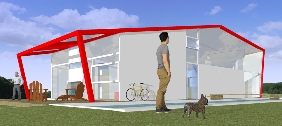 The Modern Cabin - © 2014 Andrea Salvini