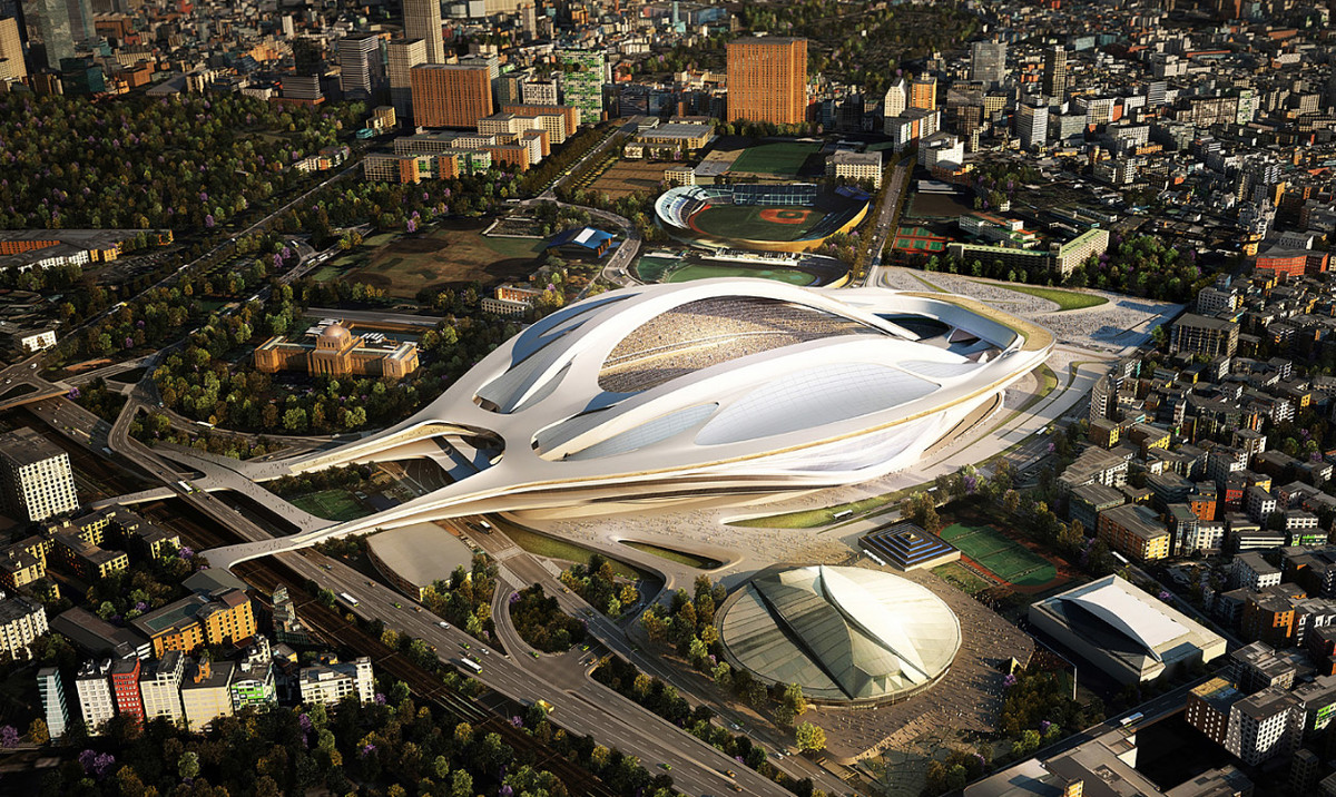 Zaha Hadid Architects (Image- Japan Sport Council)