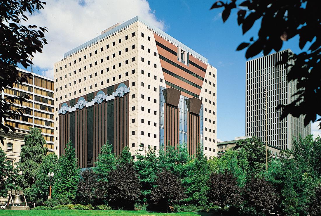 Michael Graves Amp Associates Quot Portland Building Quot Added To