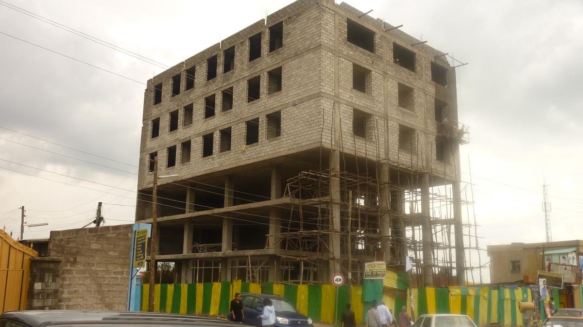 building under-construction