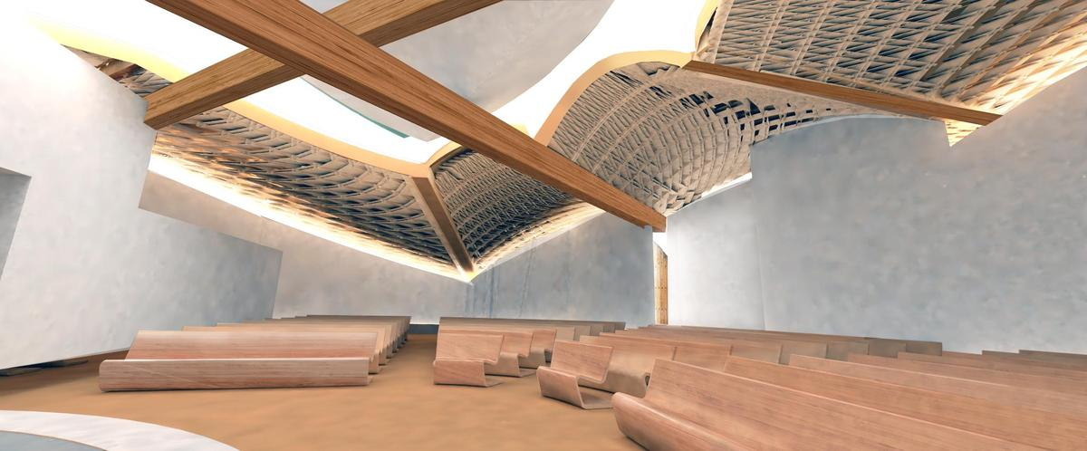 San Giacomo Church Miralles Tagliabue Embt Archinect