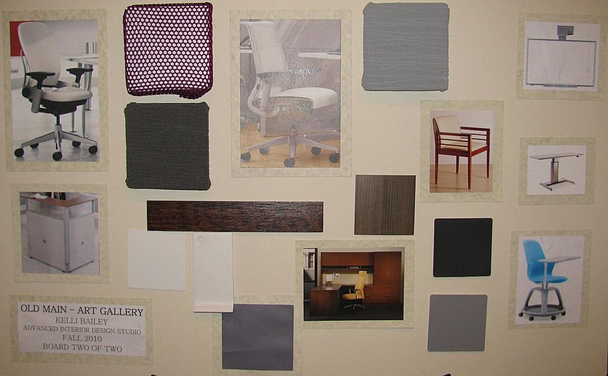 Art Gallery Presentation Board