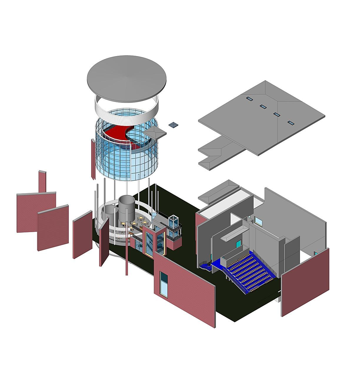 Axonometric Model