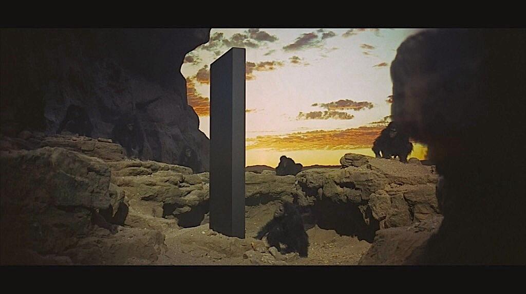 2001: A Space Odyssey (1969).