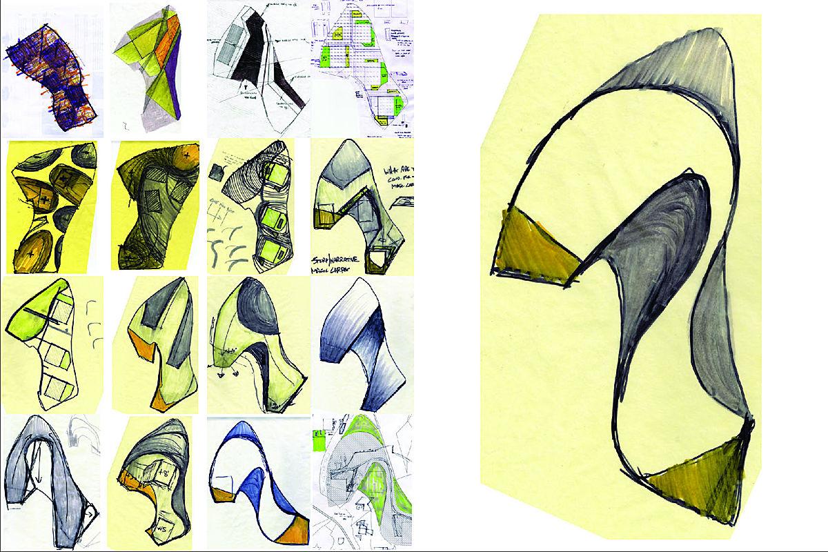 Iterative Sketches - topo adjustment strategies