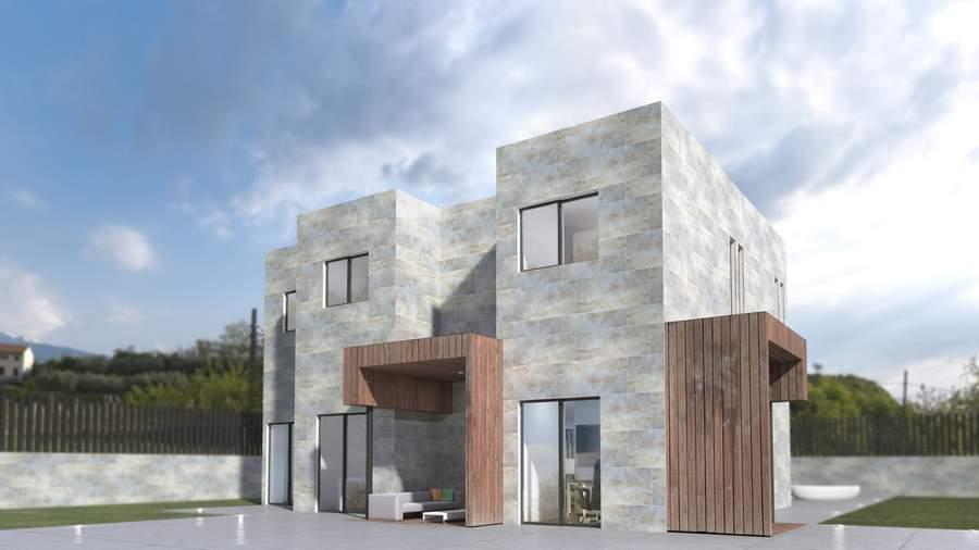 Casas modernas prefabricadas modelo 5c miguel martinez - Casas prefabricadas modernas ...