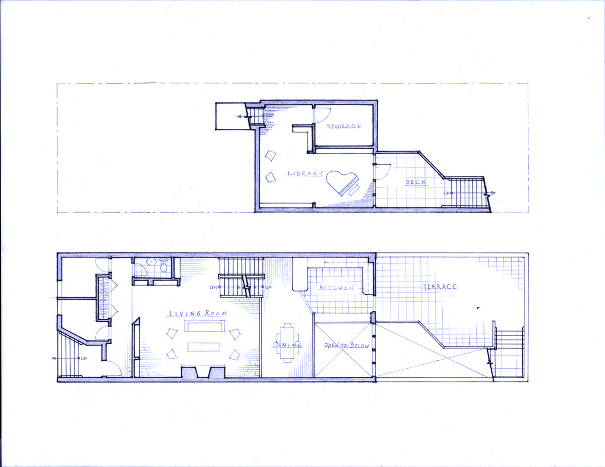 Plans - First Floor & Basement