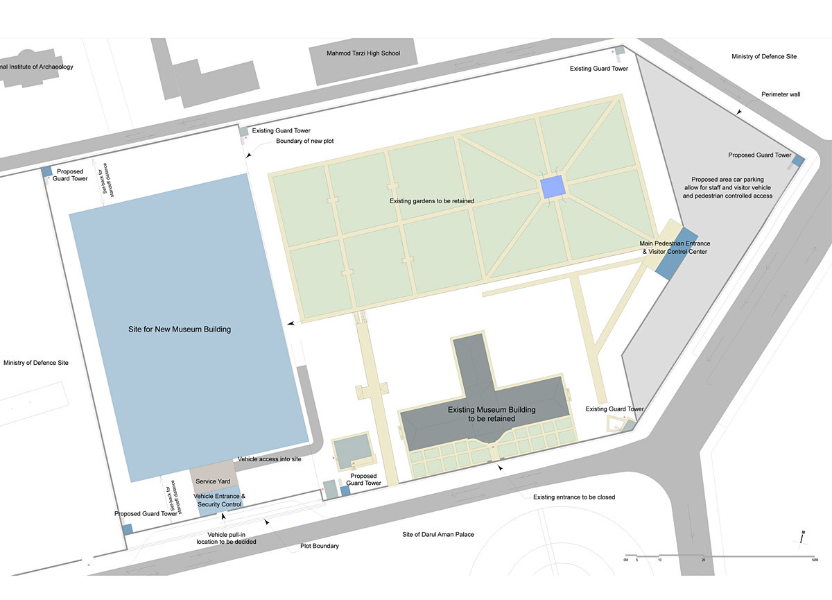 Concept master plan for the NMA