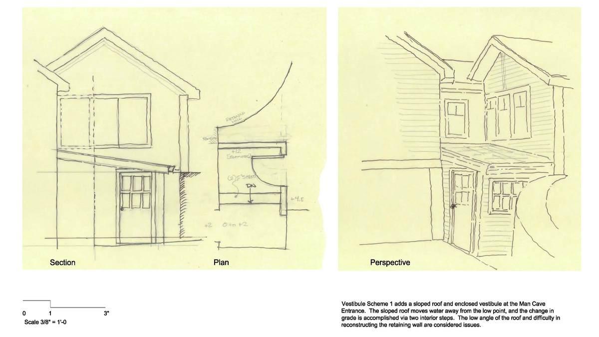 Mohawk Lake Residence - Vestibule Option 1
