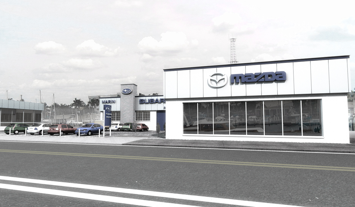 subaru dealership facility mariusz piotrowski archinect. Black Bedroom Furniture Sets. Home Design Ideas