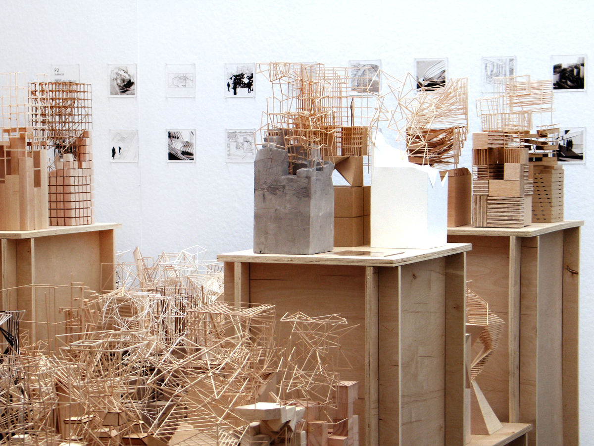 USC School of Architecture, Arch102b 'Sublimation' Exhibit, Spring 2014. Courtesy of Colin Sieburgh.