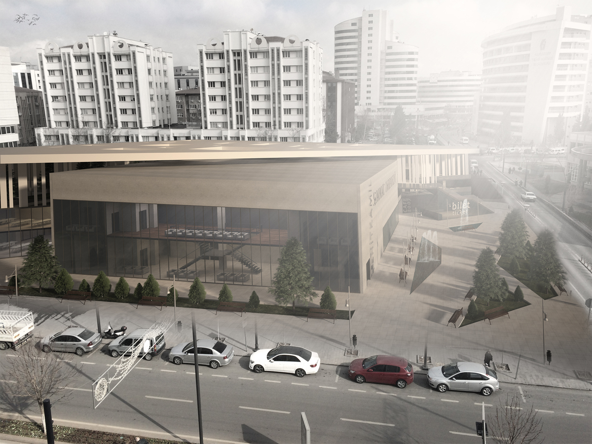 Art Center 2, Gaziantep, Turkey
