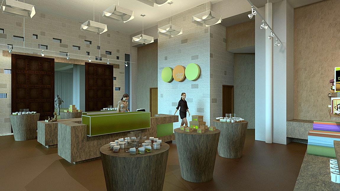 Go Back > Gallery For > Yoga Studio Reception Desk