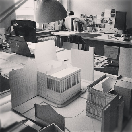 we had a very good consultation with Alexander Schwarz from David Chipperfield Architects two days ago. He helped us a lot - now we can continue via Stephan Graebner