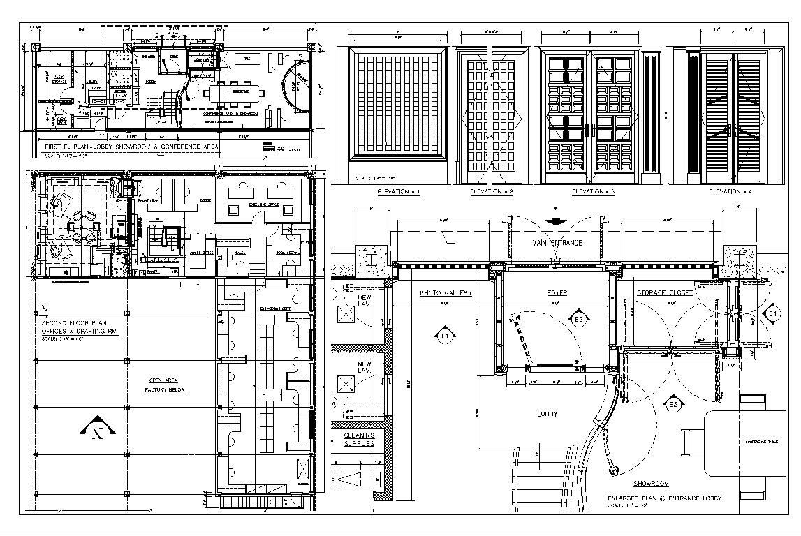 Areas of Interest and Main Office Renovation | Joseph Fine ...