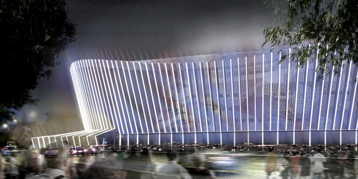 Barça Stadium - Camp Nou FCB _SVArquitectura - Santiago Vives