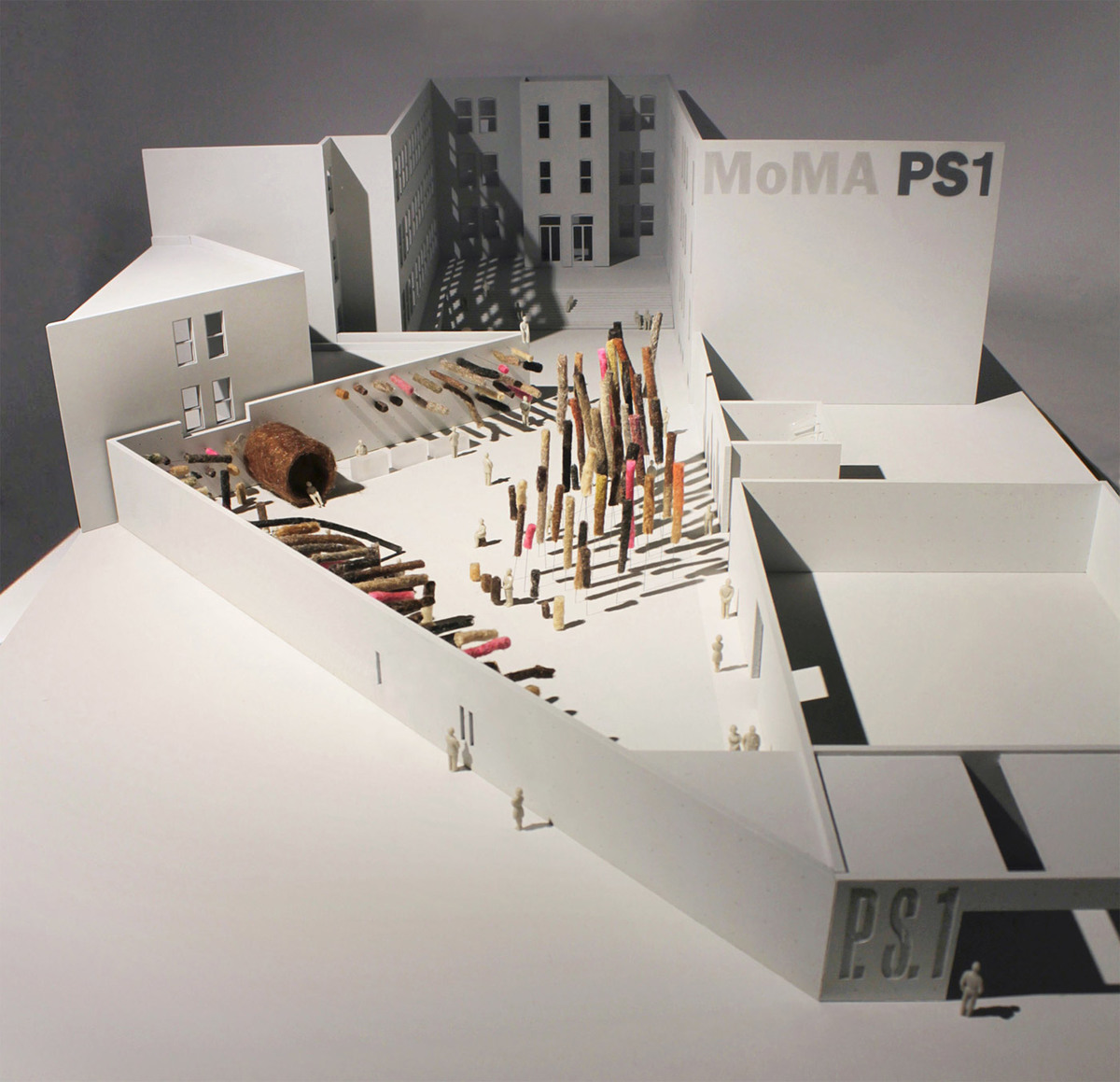 Model photo of MY HAIR IS AT MOMA PS1 by TempAgency (Photo: TempAgency)