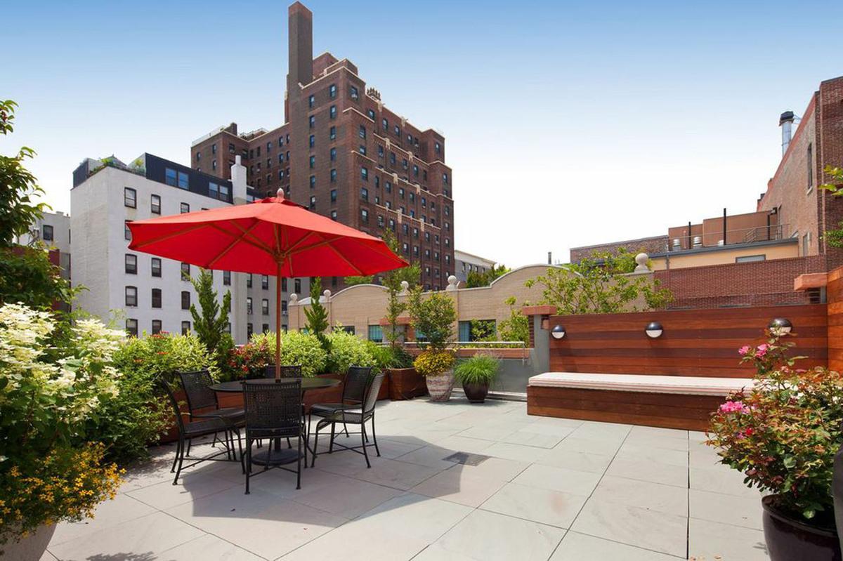 Brooklyn Nyc Backyard Patio And Rooftop Terrace Garden