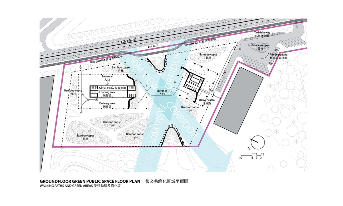 Groundfloor plan (Image: KAMJZ)