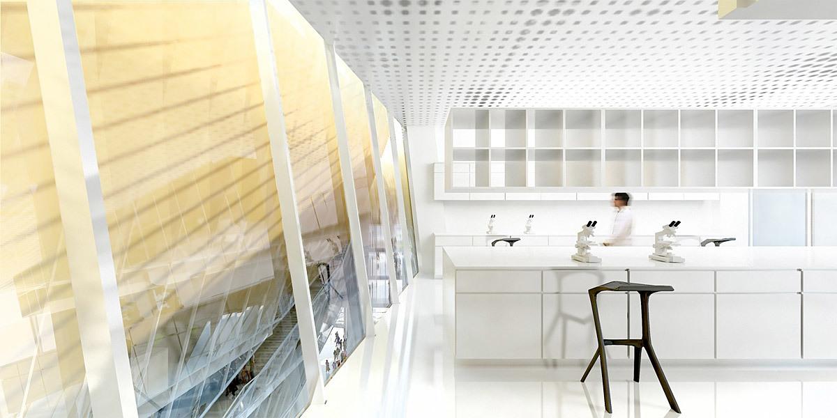 Visualization interior (Image: BIG + OFF)