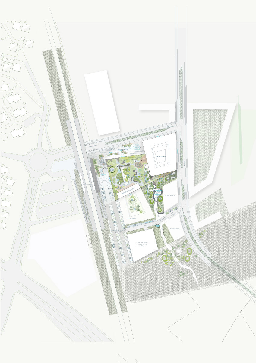 Site plan (Illustration: Henning Larsen Architects)