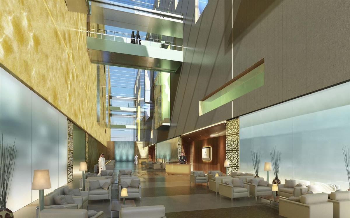 Cleveland Clinic Abu Dhabi Shelley Mckenna Archinect